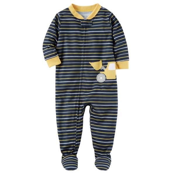 Toddler Boys' 1-Piece Polyester Pajamas