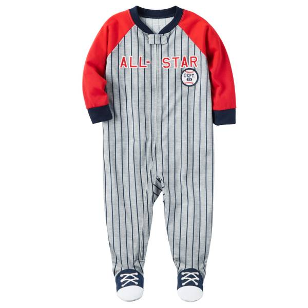 Toddler Boys' 1-Piece Polyester Pajamas