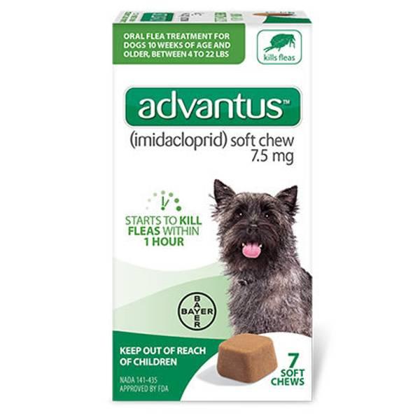 Advantus Oral Flea Treatment Soft Dog Chews