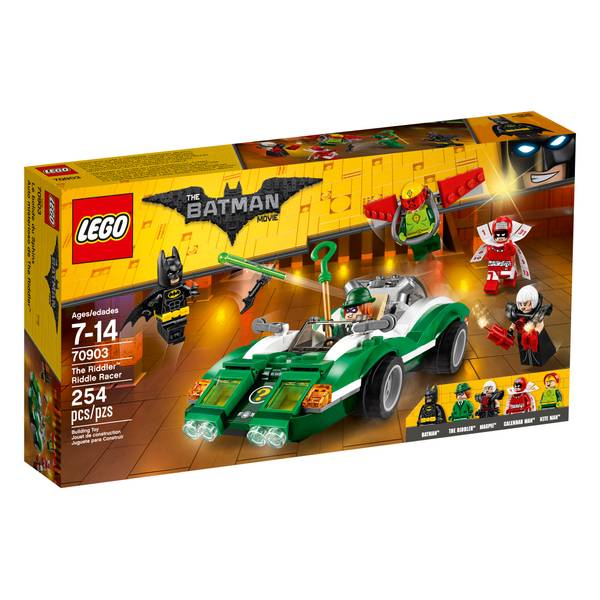 Batman Movie The Riddler Riddle Racer 70903