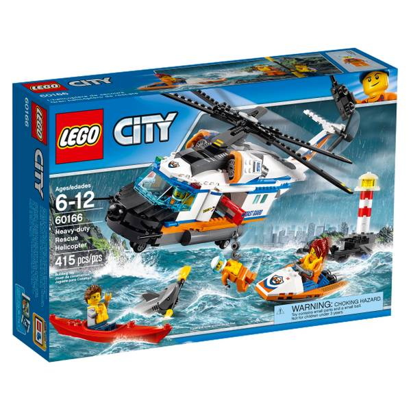 City Heavy-duty Rescue Helicopter 60166