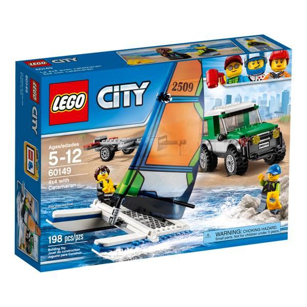 City 4x4 with Catamaran 60149