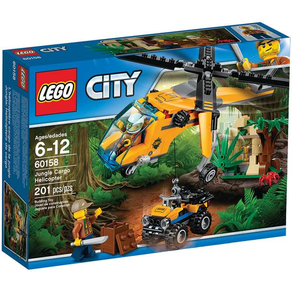 City Jungle Cargo Helicopter 60158