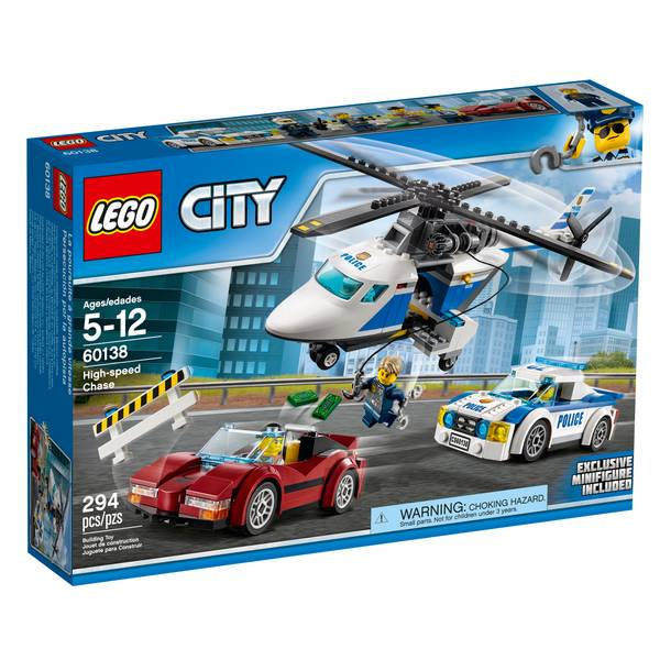 City High-speed Chase 60138
