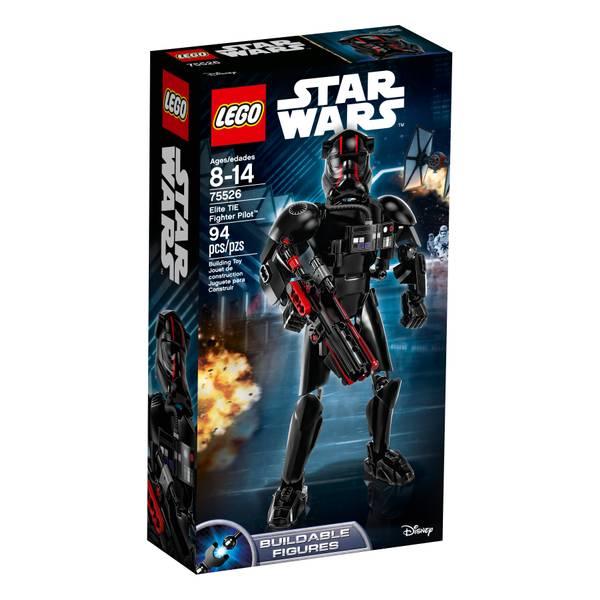 75526 Star Wars Last Jedi Elite TIE Fighter Pilot Buildable Figure