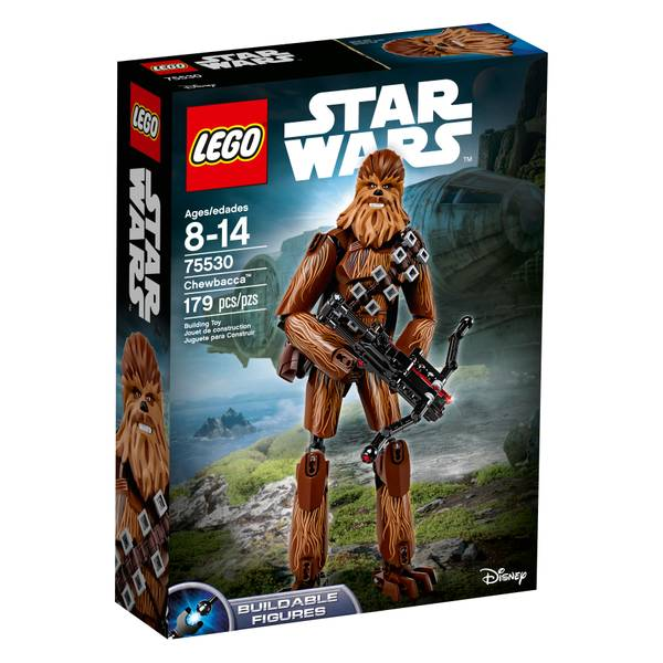 75530 Star Wars Last Jedi Chewbacca Buildable Figure