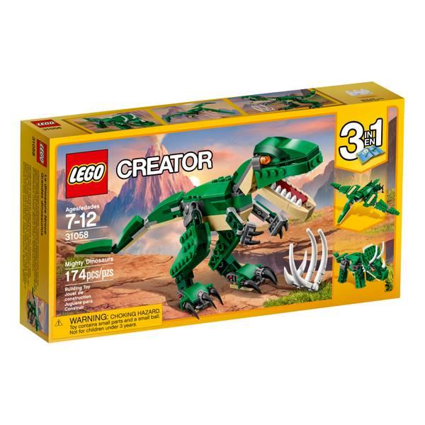 Creator Mighty Dinosaurs 31058