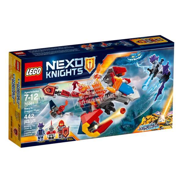 Nexo Knights Macy's Bot Drop Dragon 70361
