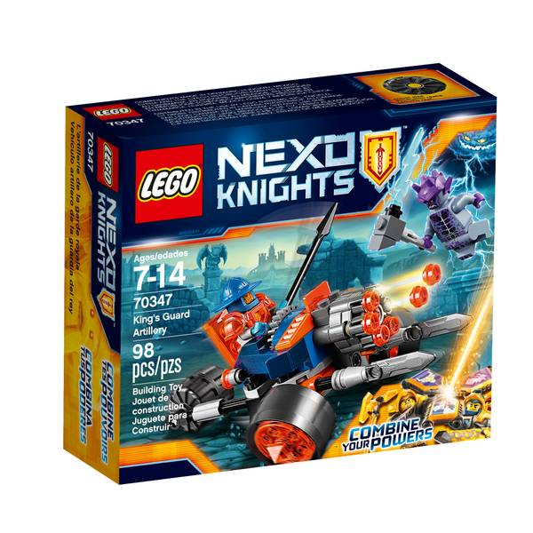 Nexo Knights King's Guard Artillery 70347