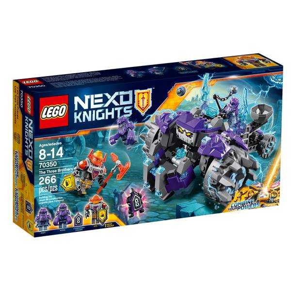 Nexo Knights The Three Brothers 70350