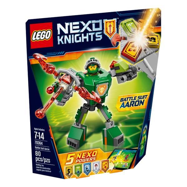 Nexo Knights Battle Suit Aaron 70364