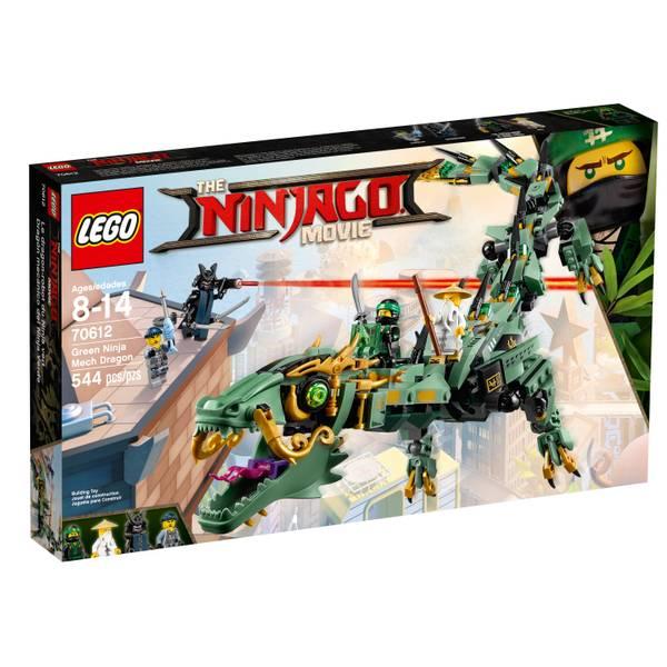 70612 Ninjago Green Ninja Mech Dragon