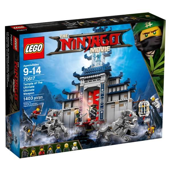 70617 Ninjago Temple of Ultimate Ultimate Weapon