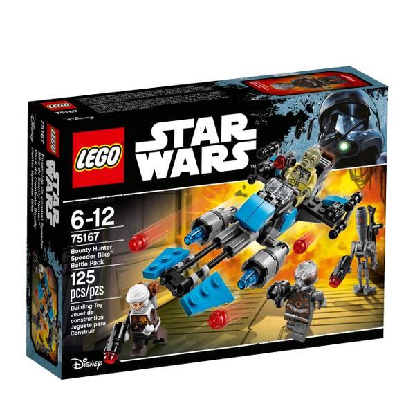 Star Wars Bounty Hunter Speeder Bike Battle Pack 75167