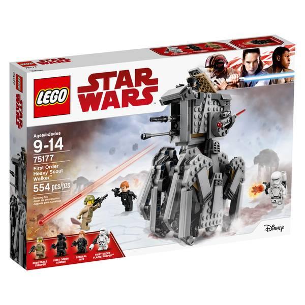 75177 Star Wars The Last Jedi First Order Heavy Scout Walker