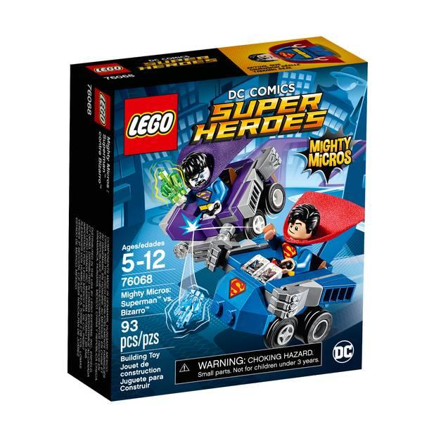 Super Heroes Mighty Micros: Superman vs. Bizarro 76068