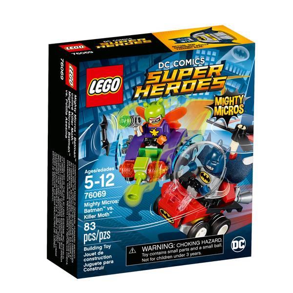 Super Heroes Mighty Micros: Batman vs. Killer Moth 76069