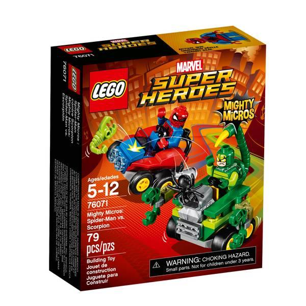 Super Heroes Mighty Micros: Spider-Man vs. Scorpion 76071