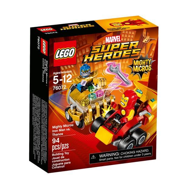 Super Heroes Mighty Micros: Iron Man vs. Thanos 76072