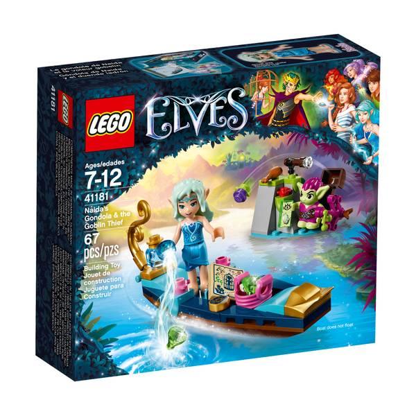 Elves Naida's Gondola & the Goblin Thief 41181