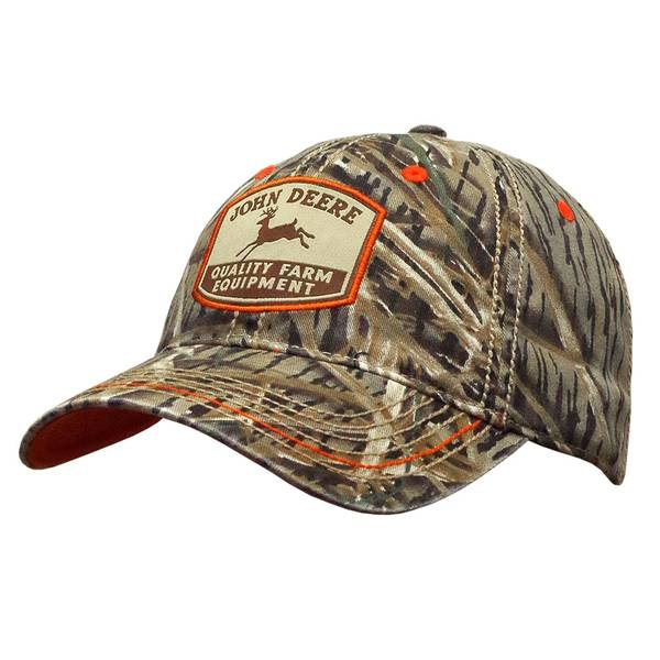 Men's Camouflage Twill Embroidered Patch Cap