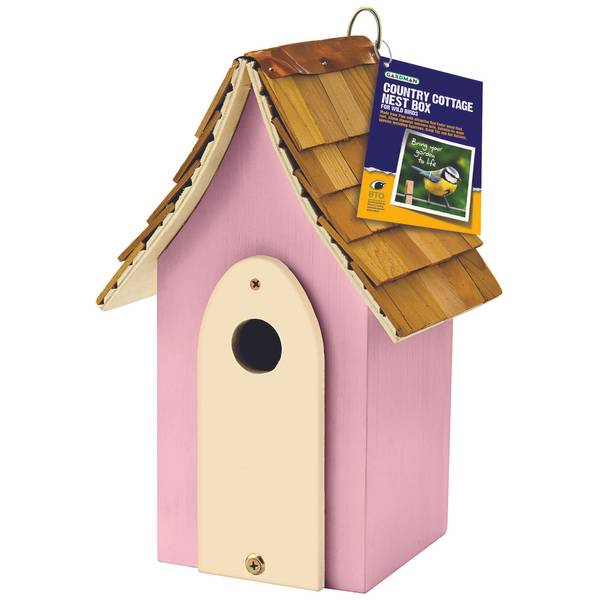 Country Cottage Nesting Box