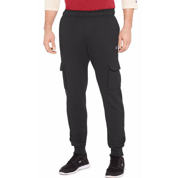 Men's Powerblend Fleece Cargo Joggers