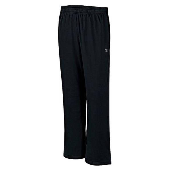 Big Men's Open Bottom Perfomance Pants