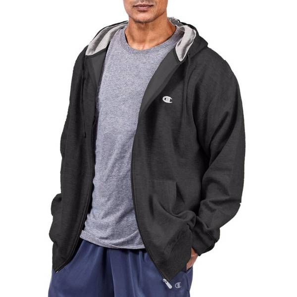 Big Men's Fleece Full Zip Hoodie