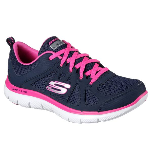 Women's Navy & Hot Pink Flex Appeal 2.0 Simplistic Shoes
