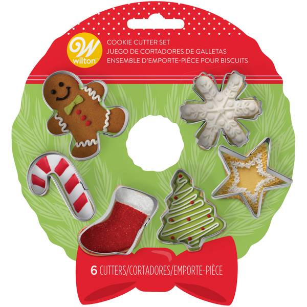 Mini Holiday Cookie Cutter Set