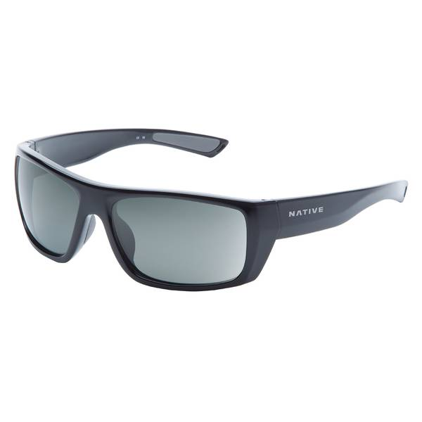 Distiller Gloss Black Frame Sunglasses