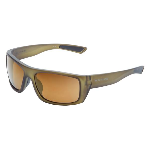Distiller Matte Moss Frame Sunglasses