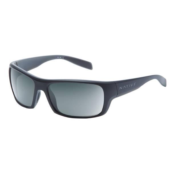 Eddyline Matte Black Frame Sunglasses