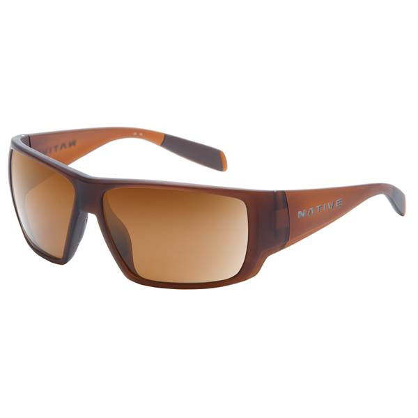 Sightcaster Matte Brown Frame Sunglasses