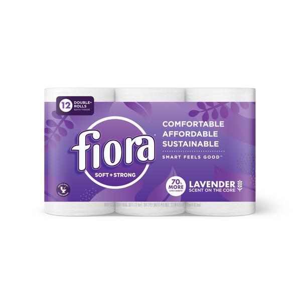 Lavender Scent Bath Tissue - 12 Pack