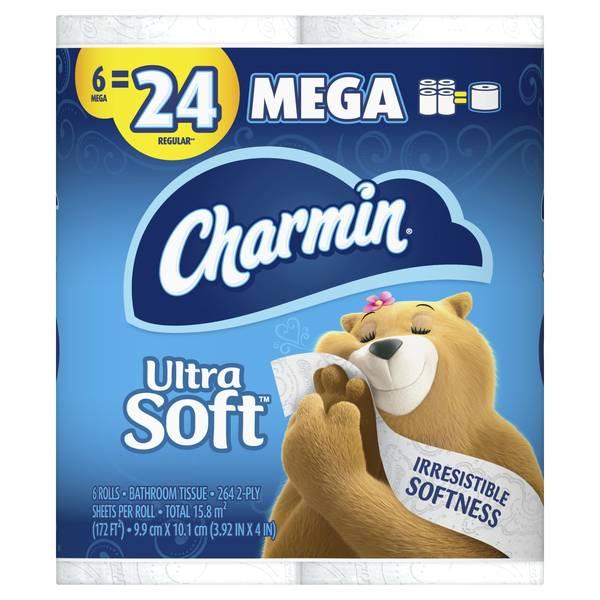 Ultra Soft Mega Roll - 6 Pack