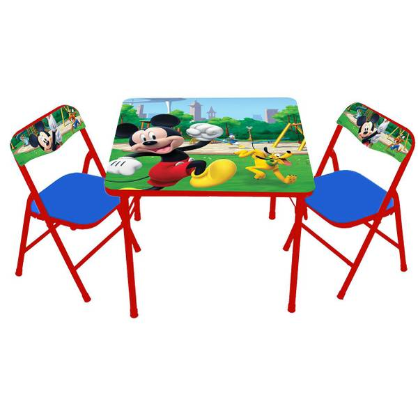 Mickey Mouse Activity Table & Chairs Set