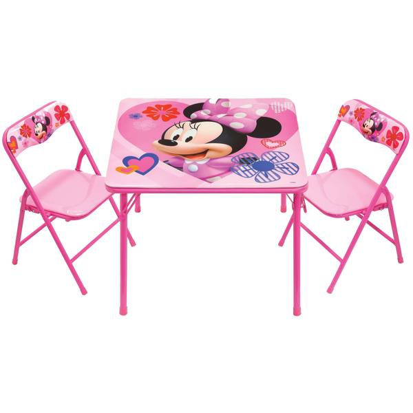 Minnie Mouse Activity Table & Chairs Set