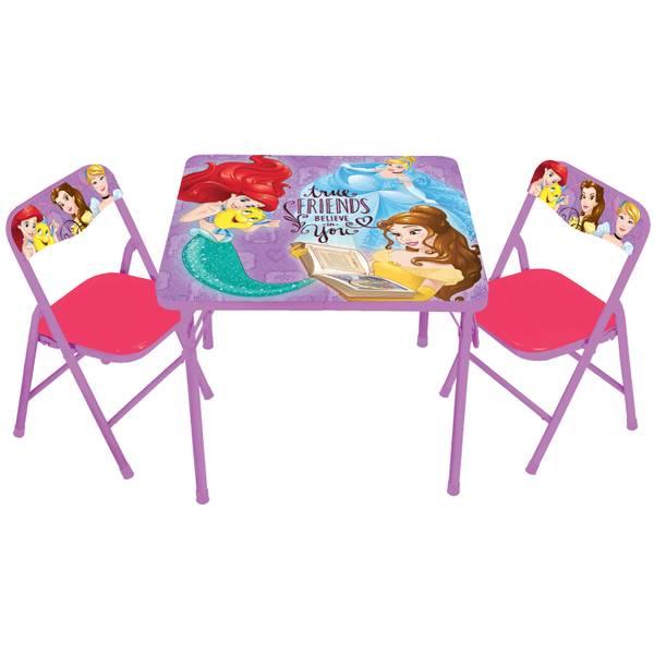Disney Princess True Friends Activity Table & Chairs Set