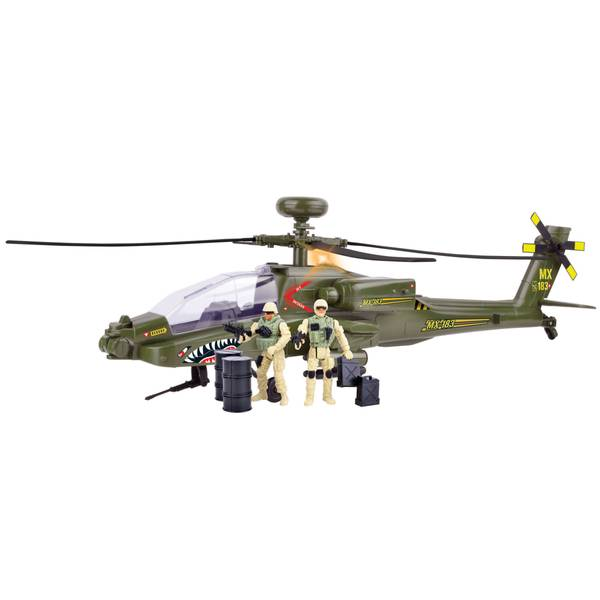 Electronic Boeing AH-64 Apache Longbow Helicopter