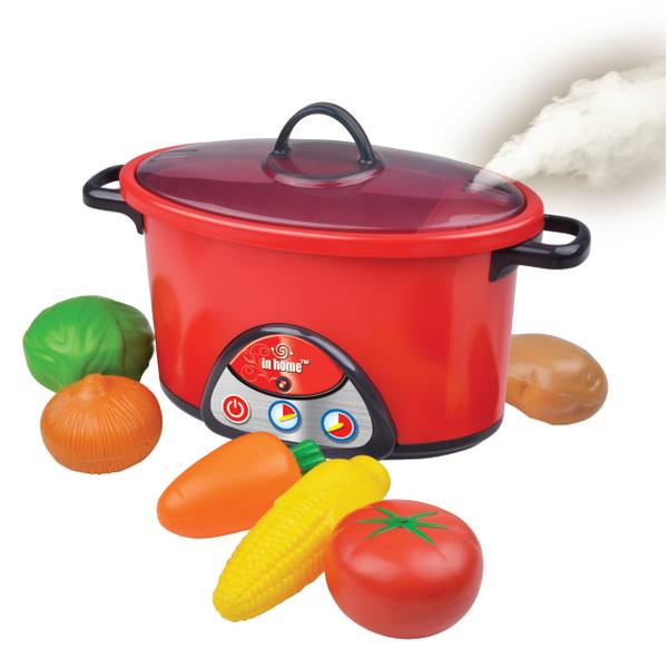 Electronic Crockpot With Playfood