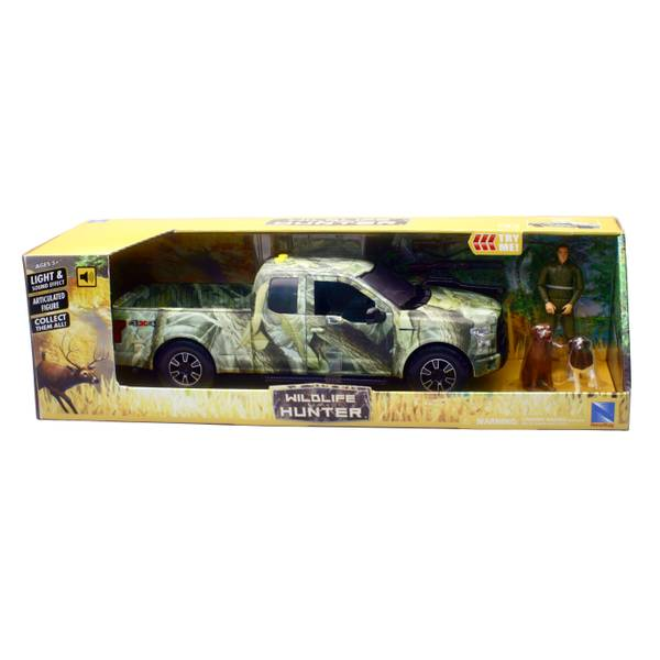 Wildlife Hunting 1:14 Ford F-150 Camo Pick-Up Hunting Set