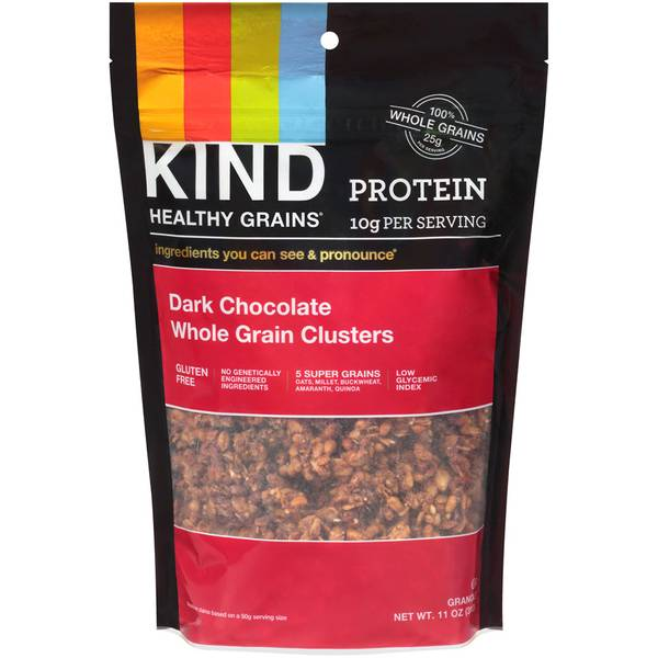Protein Dark Chocolate Whole Grain Clusters