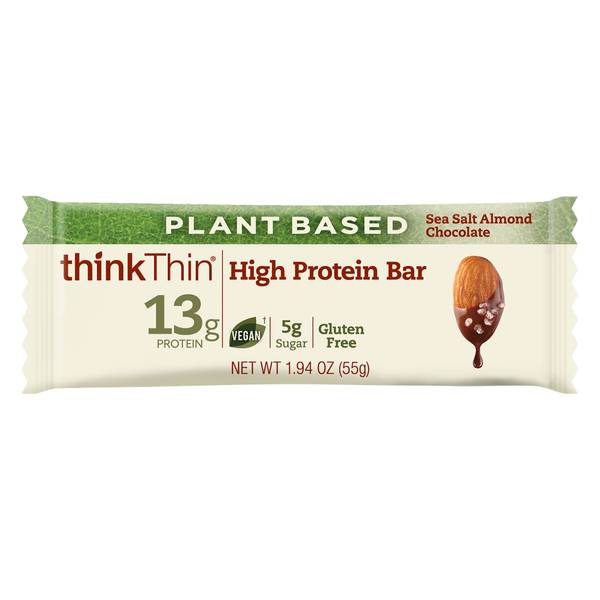 Sea Salt Almond Chocolate Plant Based Bar