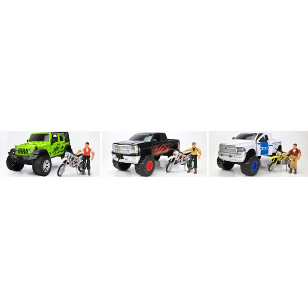 Licensed Vehicle Playset Assortment