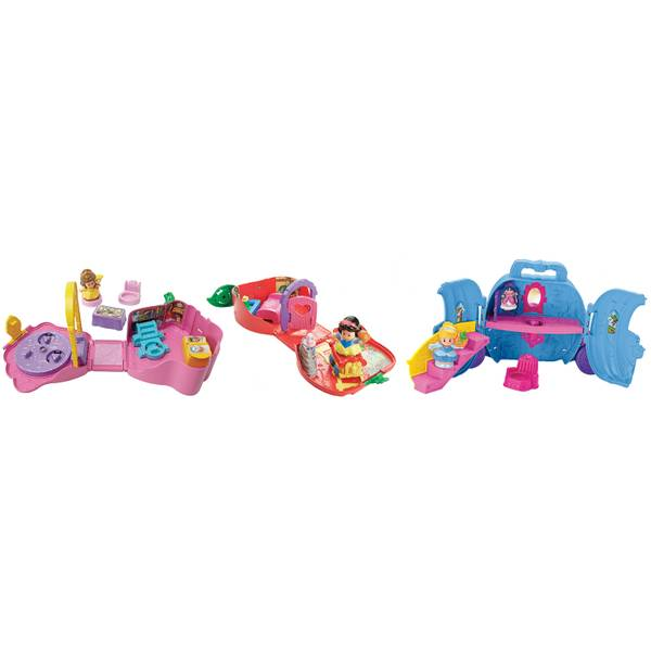 Little People Disney Princess On the Go Playset Assortment