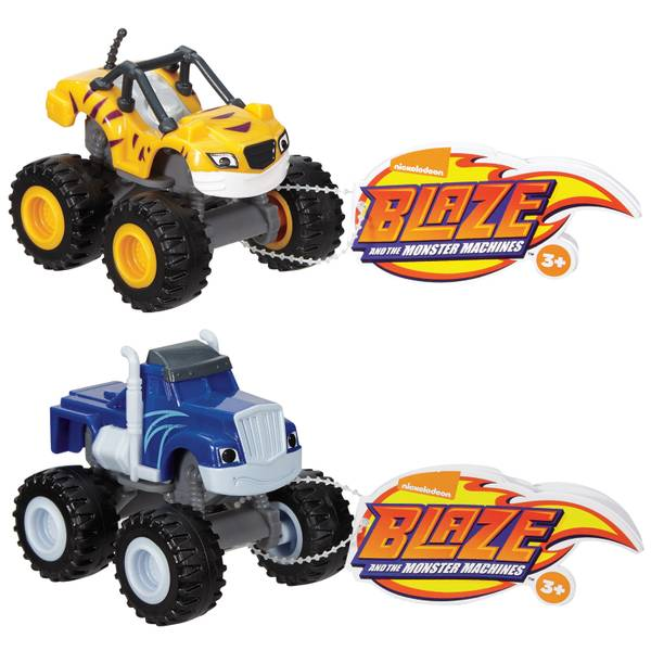 Nickelodeon Blaze and the Monster Machines Vehicle Assortment