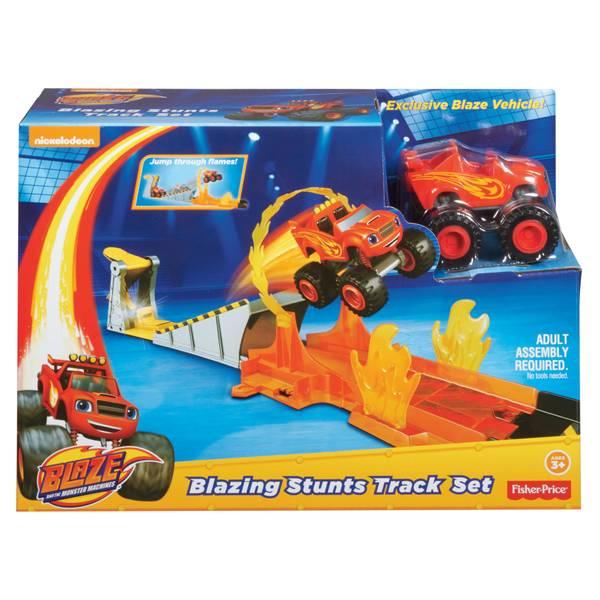 Nickelodeon Blaze and the Monster Machines Blazing Stunts Track Set