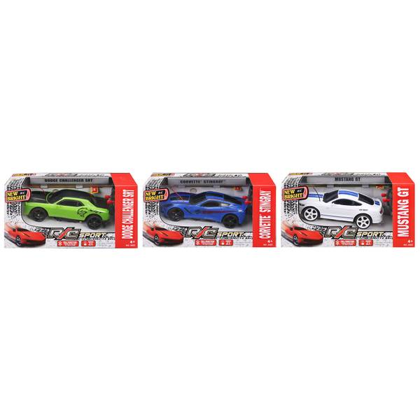 1:24 Scale Radio Control Sports Car Assortment